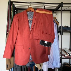 Other - Red/ burnt orange colored suit set